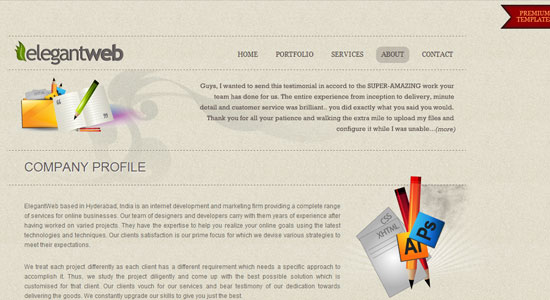 Experience About Us Pages of Some Highly Creative Designers Website 10