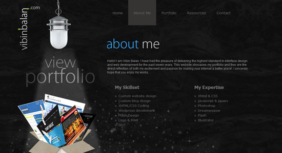 Experience About Us Pages of Some Highly Creative Designers Website 2