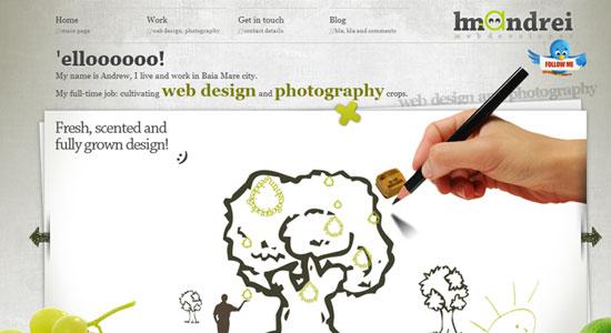30 Creative Portfolio Designs to Inspire Designers 10