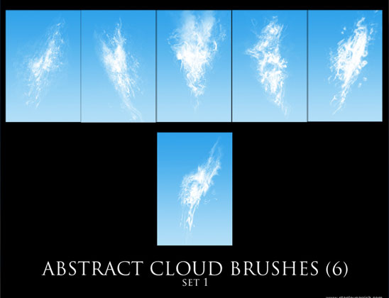 20 Free Useful Water and Cloud Brushes resource for Photoshop Users 12