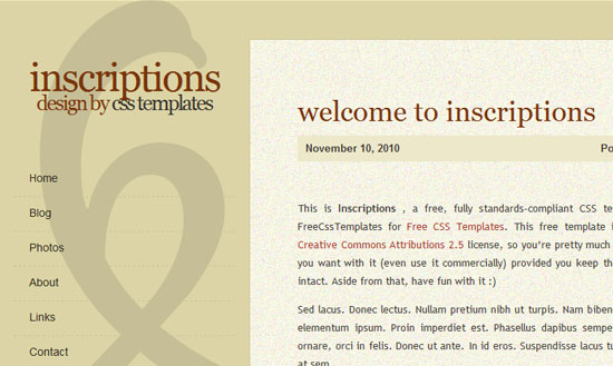 40 High Quality Free XHTML/CSS Web Template for Developers 17