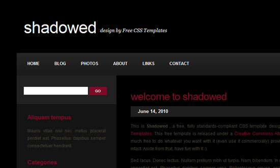 40 High Quality Free XHTML/CSS Web Template for Developers 24