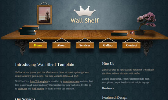 40 High Quality Free XHTML/CSS Web Template for Developers 7