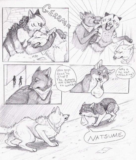 Monday Mania #1: Beautiful Story in Comic Art Sketch-1 3