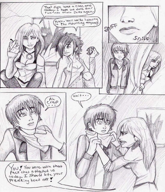 Monday Mania #1: Beautiful Story in Comic Art Sketch-1 5