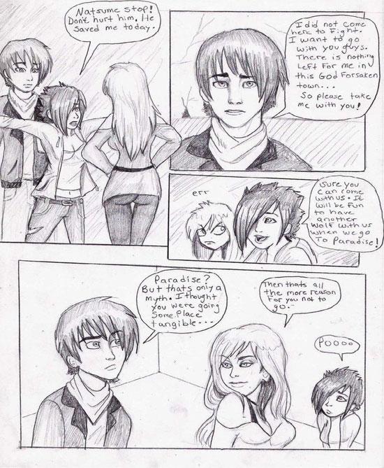 Monday Mania #1: Beautiful Story in Comic Art Sketch-1 6