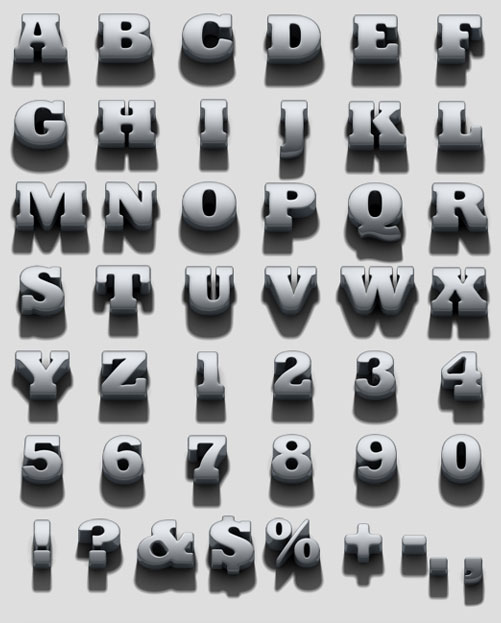 40 Beautiful Hand Made Font for Typography Inspiration 40