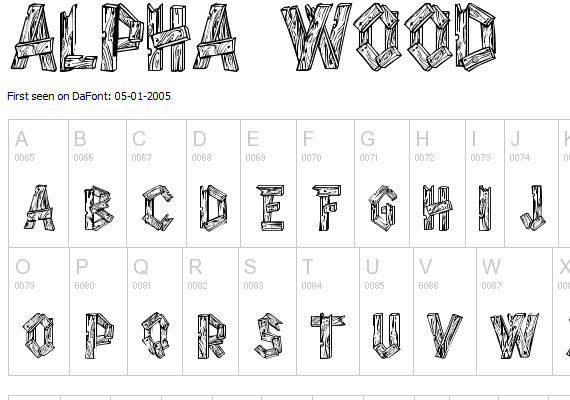20 Useful Grunge Free Fonts for Web Designers 2