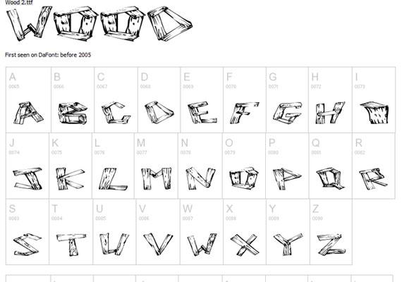 20 Useful Grunge Free Fonts for Web Designers 6
