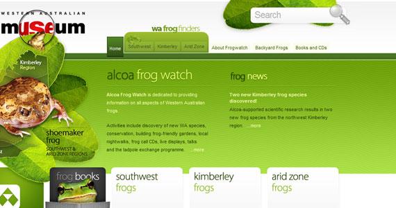 20 Creative Web Design in green Color 10