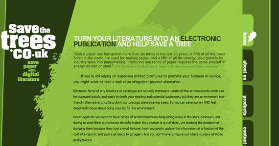 20 Creative Web Design in green Color 13