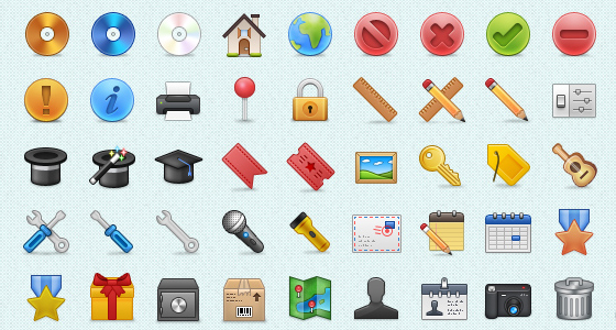 20 Free Vector and PNG Icon Set for Designers 1