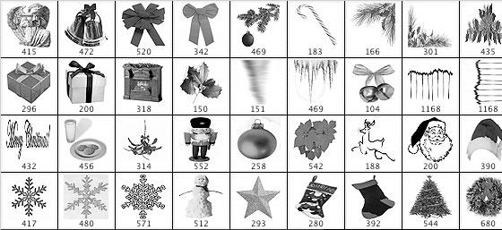 15 Beautiful and Useful Free Photoshop Brush Set 5