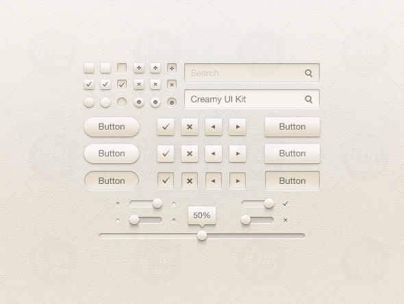 New Creative UI Kit Free Download 4