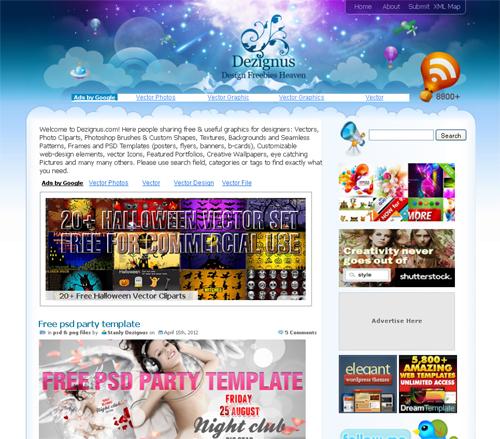 20 Blogs Offering Web Design Freebies 12