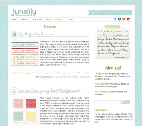 20 Blogs Offering Web Design Freebies 13