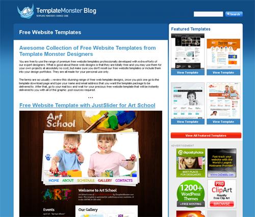 20 Blogs Offering Web Design Freebies 3
