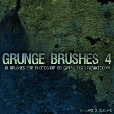 20 Free Photoshop Grunge Brushes 17