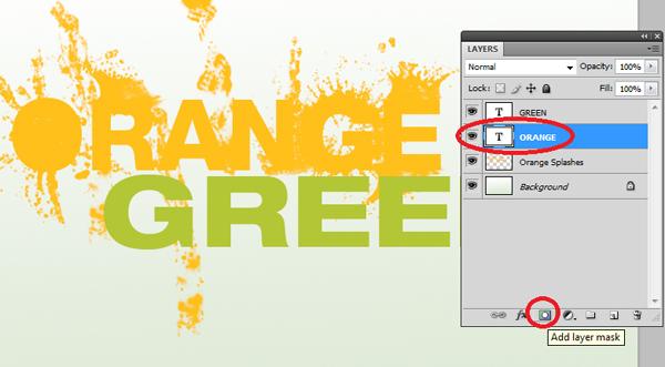 How To Design a Splattered Flyer Title 7