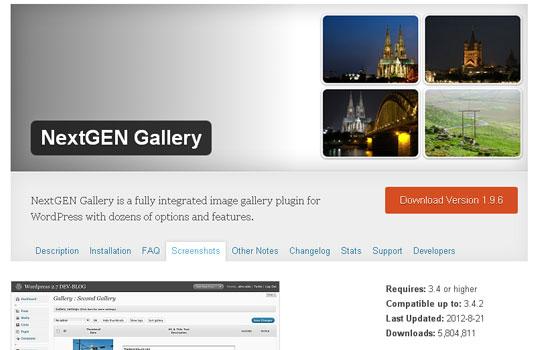 9 Essential WordPress Gallery Plugins 4
