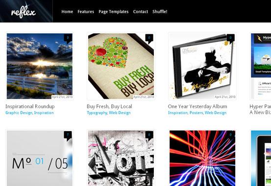 5 of the Best Premium Pinterest like Themes 4