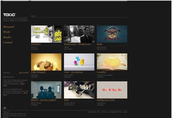 40 Impressive Grid based Web Designs for Inspiration 16