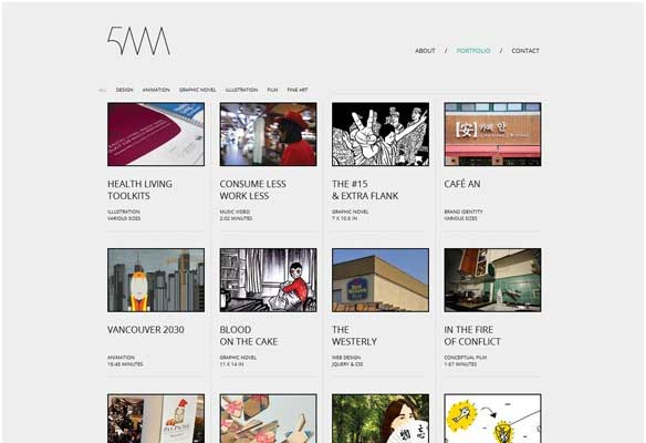 40 Impressive Grid based Web Designs for Inspiration 30