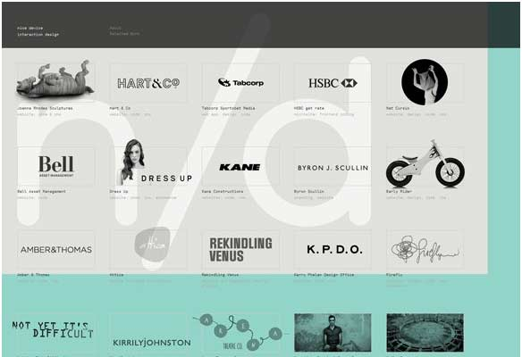 40 Impressive Grid based Web Designs for Inspiration 4