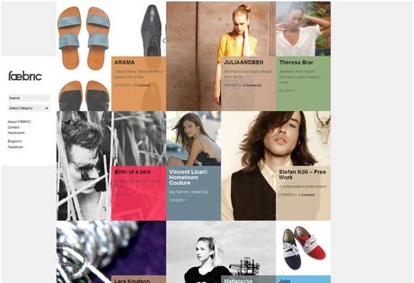 40 Impressive Grid based Web Designs for Inspiration 7