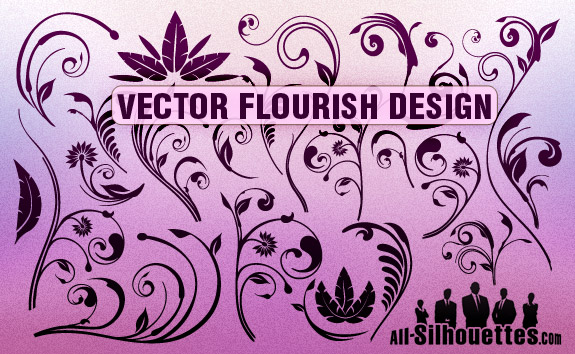 20 Free Set of Ornaments Vector Resources 4