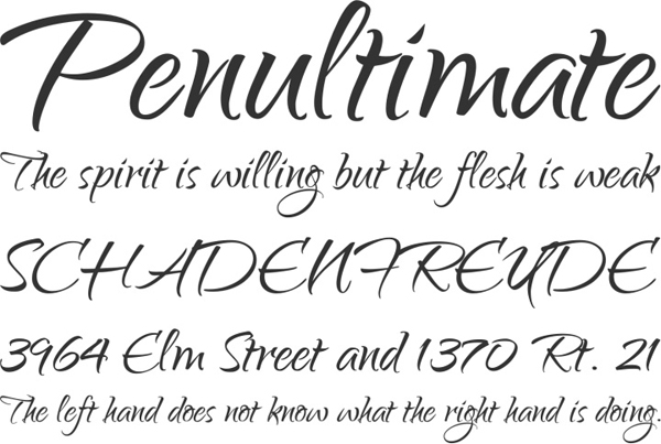 25 Free Brush Fonts For Designers 24