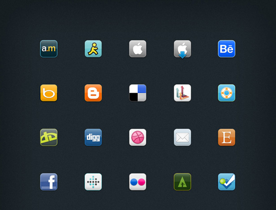 30+ Latest Free Flat Icon Sets For Your Use 1