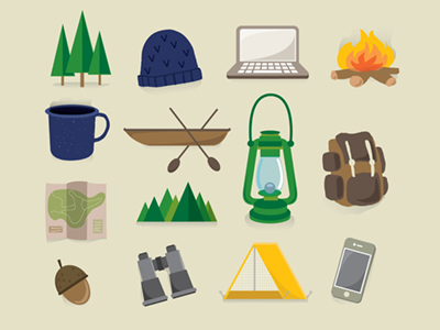 30+ Latest Free Flat Icon Sets For Your Use 26