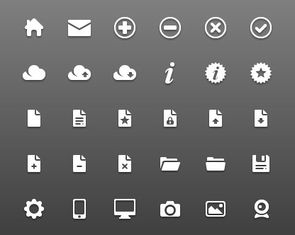 30+ Latest Free Flat Icon Sets For Your Use 29