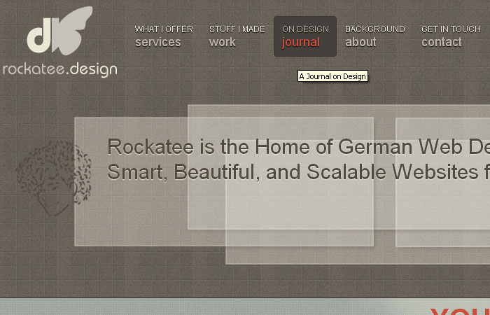 15 Beautiful and Creative CSS Navigation Menus 14