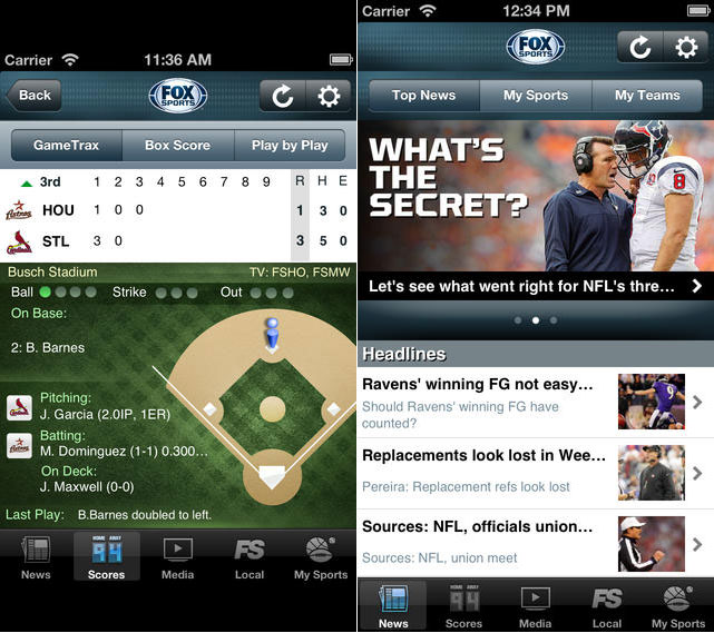 Apps:10 Best Free Sports Apps For iPhone and iPad 1