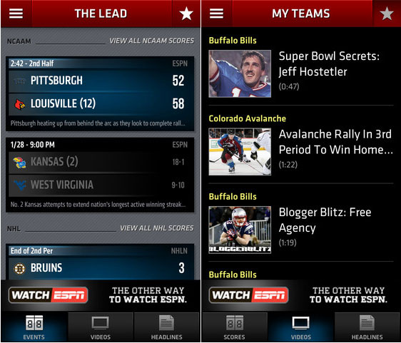 Apps:10 Best Free Sports Apps For iPhone and iPad 10