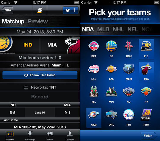Apps:10 Best Free Sports Apps For iPhone and iPad 5