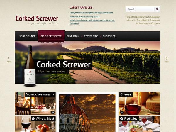 20 Beautifully Designed Free PSD Website Template 2