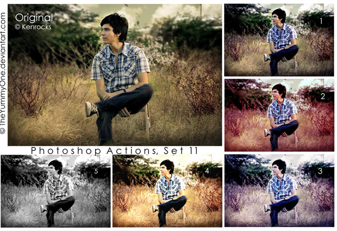 20 Free Effective Photoshop Action Tutorials and Resources 9