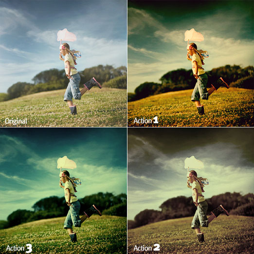 20 Free Effective Photoshop Action Tutorials and Resources 17