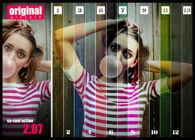 20 Free Effective Photoshop Action Tutorials and Resources 18