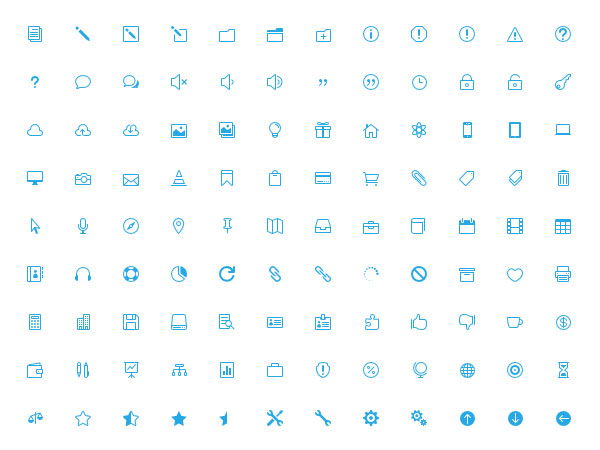 15 Useful Free Icon Fonts for Designers 14