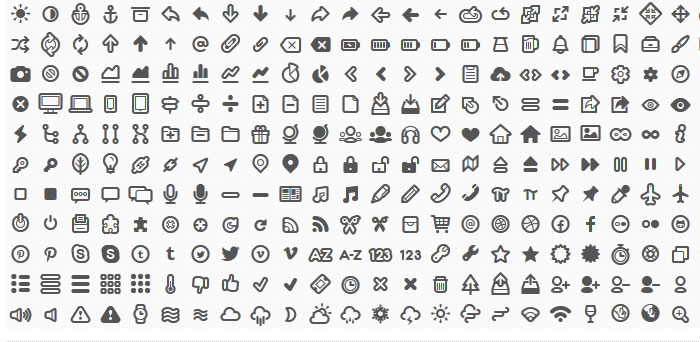 15 Useful Free Icon Fonts for Designers 4