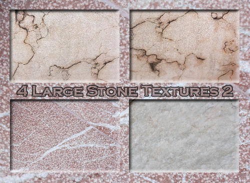 4 Large Stone Textures