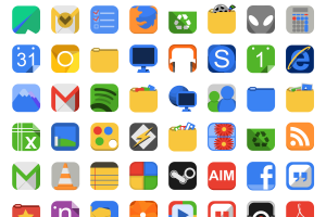 10 Beautiful Sets of free Icons 5