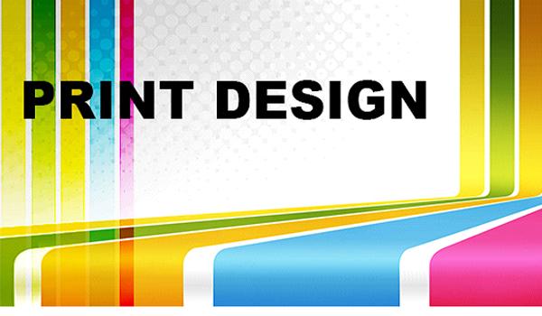 Print design: