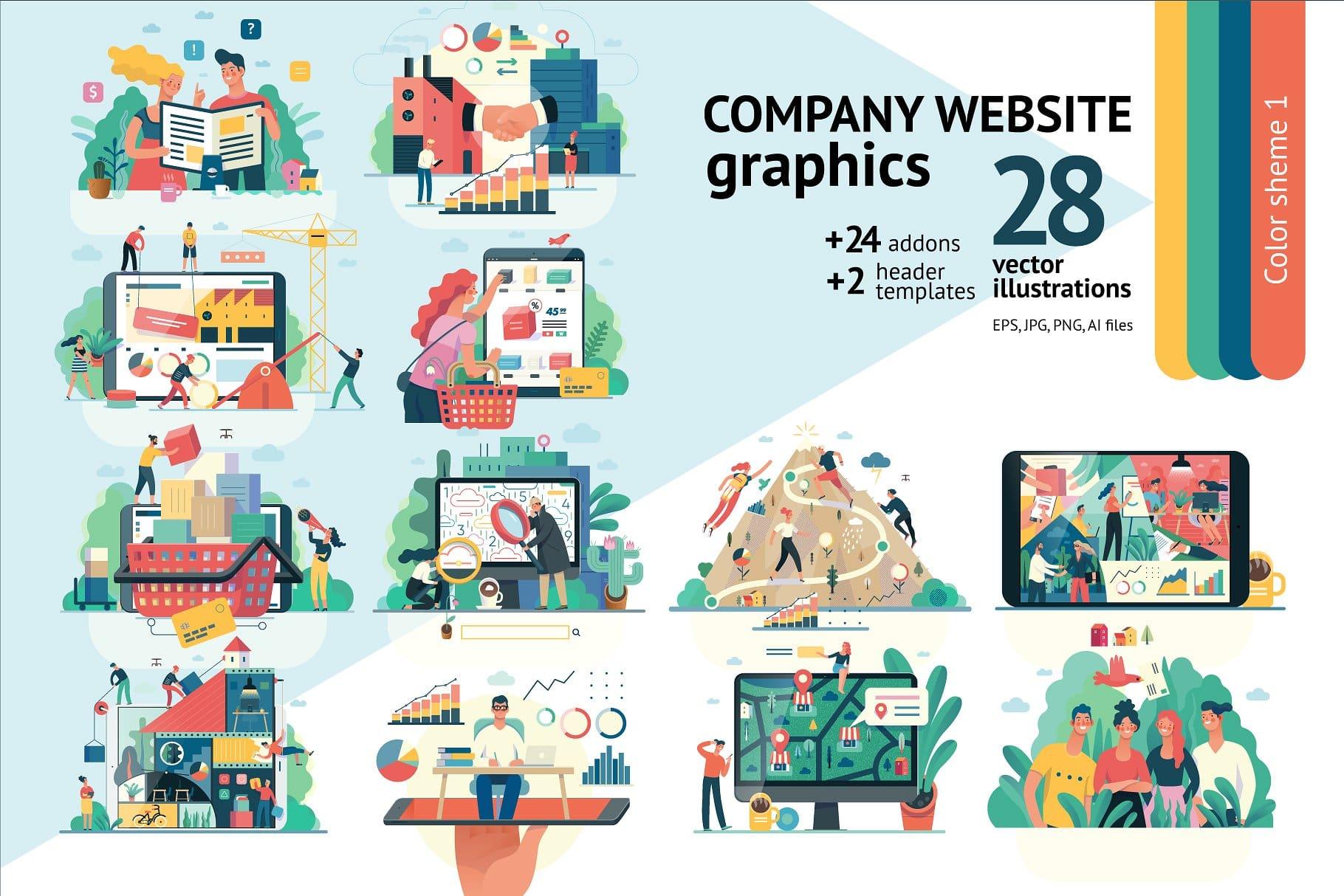 10 Premium Vector Graphics from CreativeMarket.com - Feb 2019 5
