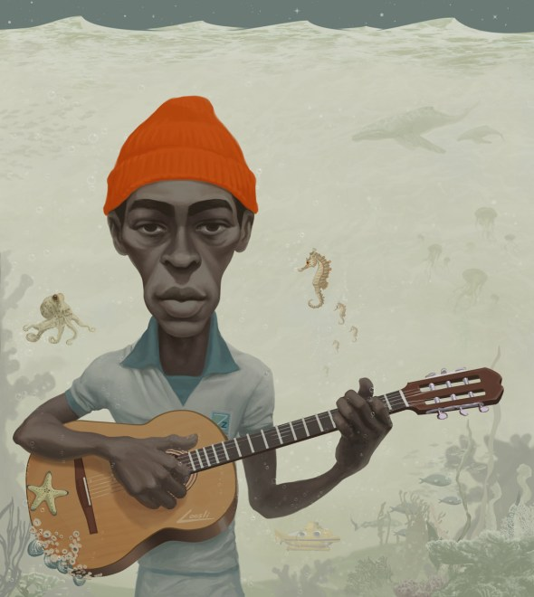 Seu Jorge as depicted by infernovball