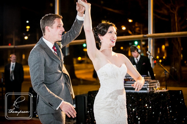 Shannon & Chase's New Year's Eve Wedding at Arena Stage